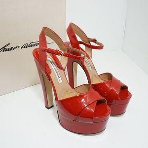 🆕Brian Atwood Madison Sandals Platform High Heels